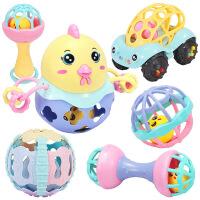 育儿宝婴幼儿玩具摇铃0-1岁新生儿3-6-12个月女孩8个月男宝宝 萌趣6件套摇铃(开窗彩盒装)