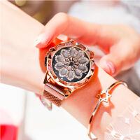 抖音同款转转表生日礼物送女朋友礼物情侣手表送朋友礼物圣诞节礼物新款女手表网红手表女