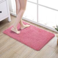 浴室门口吸水地垫卫浴厕所卫生间门口防滑脚垫子卧室地毯进门门垫定制