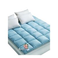 床垫1.8m床褥子双人1.5米加厚防滑羽绒懒人榻榻米180x200床褥垫2m定制