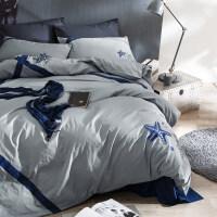 全棉被单四件套纯棉床套学生宿舍床上单人1.2米床三件套床单被套定制