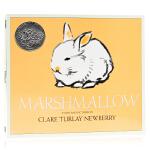 棉花糖兔子Marshmallow 英文原版绘本 1943年凯迪克银奖作品 友情亲情温情故事绘本 英语启蒙认知 平装 亲