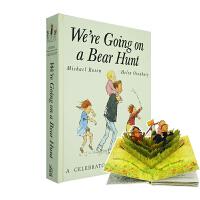 We're Going on a Bear Hunt Popup 我们要去捉猎熊 英文原版 Michael Rosen立体书 廖彩杏书单