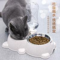 【支持礼品卡】猫碗双碗猫食盆宠物狗盆狗碗自动饮水喂食器猫咪碗狗狗用品狗粮盆7hz