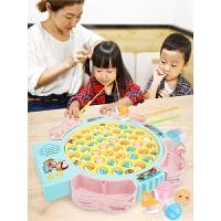 儿童磁性可充电电动钓鱼机 益智套装小孩1-3-6岁玩具