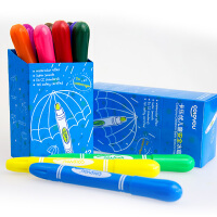 Coloyou 卡乐优 儿童12色水蜡笔 安全绘画用笔 儿童节礼物 顺滑好用