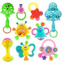小孩玩具 女孩0-1岁 新生婴儿玩具手摇铃3-6-12个月幼儿0-1岁男孩女孩小孩7-8