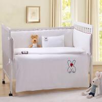 婴童床品套件婴儿床上用品宝宝婴童床品床围套件被套床单枕套幼稚园三件套ZQ-YS004