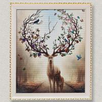十字绣画框挂墙相框50*70cm X60 90 75 80 40 30厘米1000片拼图框
