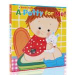 A Potty time for Me! 我的便壶 上厕所时间 行为习惯养成 英文原版绘本 Karen Katz 凯伦