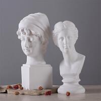 欧式维纳斯石膏艺术雕像工艺品摆件家具装饰品玄关客厅办公室摆设