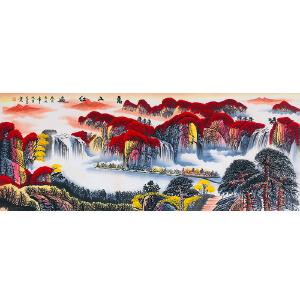国家一级美术师 范海(万山红遍)ZH191