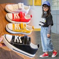 童鞋�和�帆布鞋女童鞋子男童鞋����春季小女孩潮童板鞋