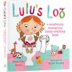 Lulus Loo 露露上厕所 英文原版绘本0 3岁 Lulu's 国外经典幼儿启蒙认识 精装纸板翻翻书
