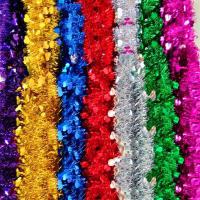 婚礼布置六一彩条装饰拉花生日装饰用品毛条节日彩带装饰圣诞派对