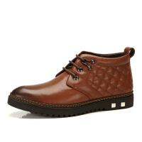 冬季新款骆驼牌男鞋 商务休闲保暖男靴子流行男鞋