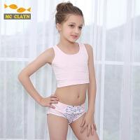 夏季时尚女童学生棉质舒适柔软内衣舞蹈小背心薄款女孩童装上衣
