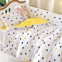 定做 婴儿斜纹全棉被套 新生儿全棉被罩 儿童宝宝幼儿园学生床品定制