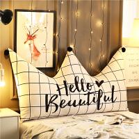 北欧床头靠垫抱枕双人靠枕床头大靠背可爱床头板软包定制