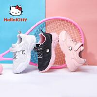 【限时抢:109元】HelloKitty童鞋女童防滑耐磨软底鞋小白鞋舒适透气学生鞋K0513860