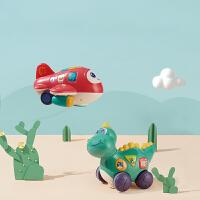 babycare宝宝爬行玩具电动0-3-6-12个月娃娃婴儿引导学爬益智玩具