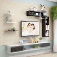 新款电视背景墙装饰架墙上置物架挂墙多功能墙壁书架客厅北欧隔板