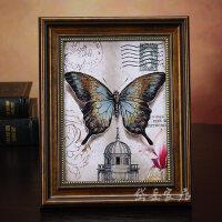 相框摆台挂墙复古欧式7寸6 10 12寸创意美式框架婚纱照片像框组合情人节礼物