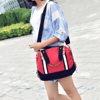 女包韩版单肩包帆布包时尚双肩包百搭潮包女士背包