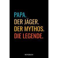 【预订】Papa Der J?ger Der Mythos Die Legende Notizbuch: Linier