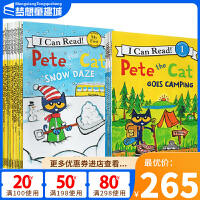 Pete the Cat 英文原版 皮特猫 My First I Can Read 系列 12册套装 儿童启蒙绘本
