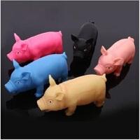 贝伦多整人发泄惨叫猪尖叫猪猪哼哼会叫的猪儿童玩具创意 颜色随机单个