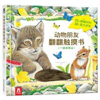 动物朋友翻翻触摸书系列-一起来爬山