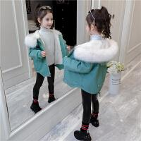 女童外套秋装洋气派克服中大童儿童秋季上衣