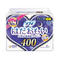 日本进口苏菲温柔肌40cm夜用纤巧卫生巾 8片