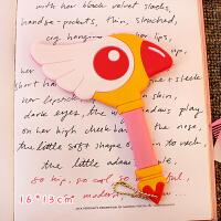 百变小樱随身镜子卡通可爱粉色少女化妆镜库洛牌权杖便携镜子