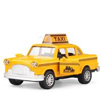 回力合金模型汽车出租车的士经典款福特雷鸟车模儿童玩具汽车礼物 经典款福特雷鸟出租车