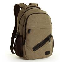 潮流休闲电脑包旅行包背包中学生书包 韩版男包 双肩包学院帆布包