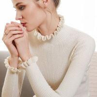 我的前半生罗子君同款半高领毛衣女套头修身针织衫长袖打底衫