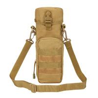 户外登山旅行保温杯套MOLLE战术手机挂包单肩斜挎棉层水壶包