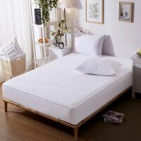 纯棉床笠单件全棉夹棉席梦思保护套加厚防滑薄棕垫床垫套1.8m床罩
