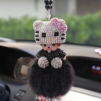 汽车挂件女神款车内车里创意女士个性卡通饰品车载后视镜高档挂饰送女友礼物