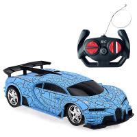 六一*儿童玩具儿童玩具汽车 1:24电动遥控车无线带灯光漂移赛车 紫色布加迪(爆裂纹) 布加迪【爆裂纹】 蓝色 5%选