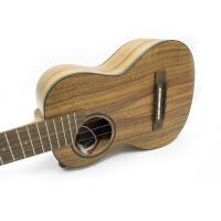 (货到付款)Eleuke 韩国 26寸 ukulele 夏威夷小吉他小四弦琴 26寸 T型 电声尤克里里 电箱乌克丽丽 电箱琴  木质纹理自然独特 可接音箱  ACP-T 送( 尤克里里琴套+3个拨片+教程一本+套弦)