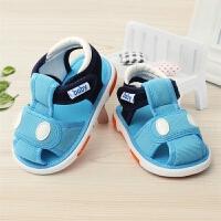 2019春款叫叫鞋婴儿鞋女宝宝鞋子春秋0-1-3岁男童软底学步鞋