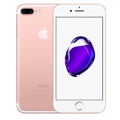 Apple iPhone 7 Plus 32G 玫瑰金色手机 支持移动联通电信4G可使用礼品卡支付 国行正品 全国联保