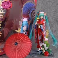 日本动漫美女 和服初音未来公主miku手办 二次元优质版模型景品摆件 和服初音未来 国产优质版