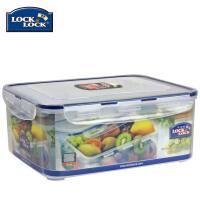 乐扣乐扣保鲜盒塑料储物盒HPL836 5.5L微波餐盒饭盒便当盒 半透明