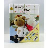 博艺相册影集 小兔兔metoo咪兔/咪熊相册 4R/6寸100张相册