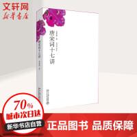 唐宋词十七讲 北京大学出版社