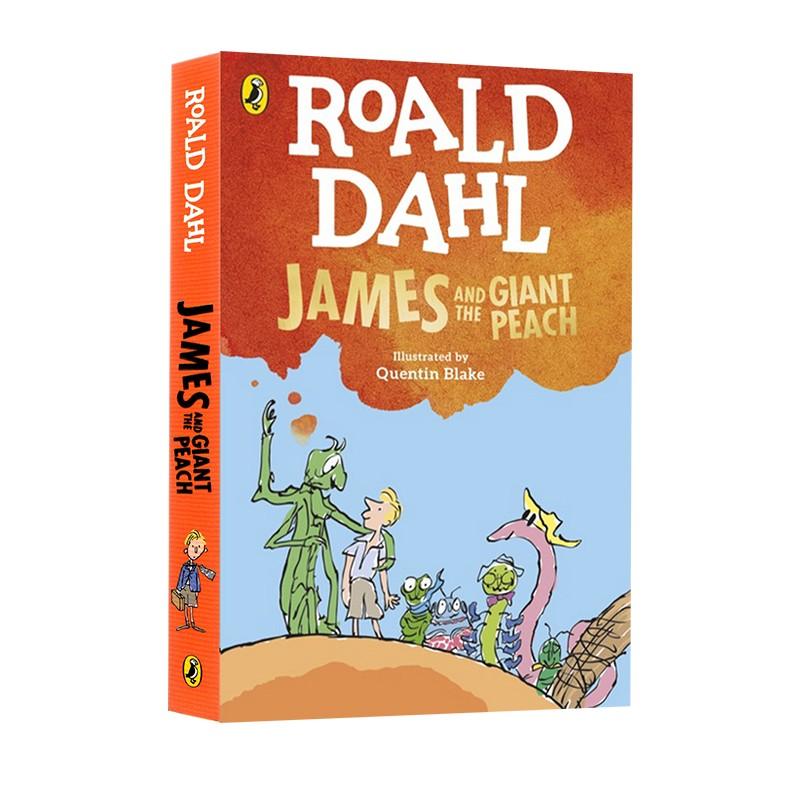 James and the Giant Peach 飞天巨桃历险记/詹姆斯与大仙桃 英文原版 Roald Dahl 罗尔德达尔